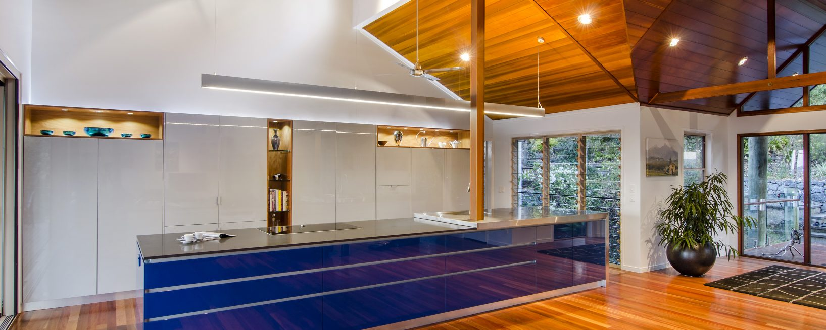 Functional Kitchen Renovation Work Zones Concealed From View