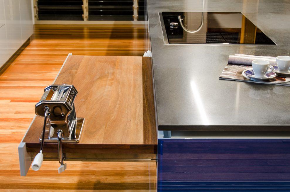 Functional Pasta Kitchen Work Zone