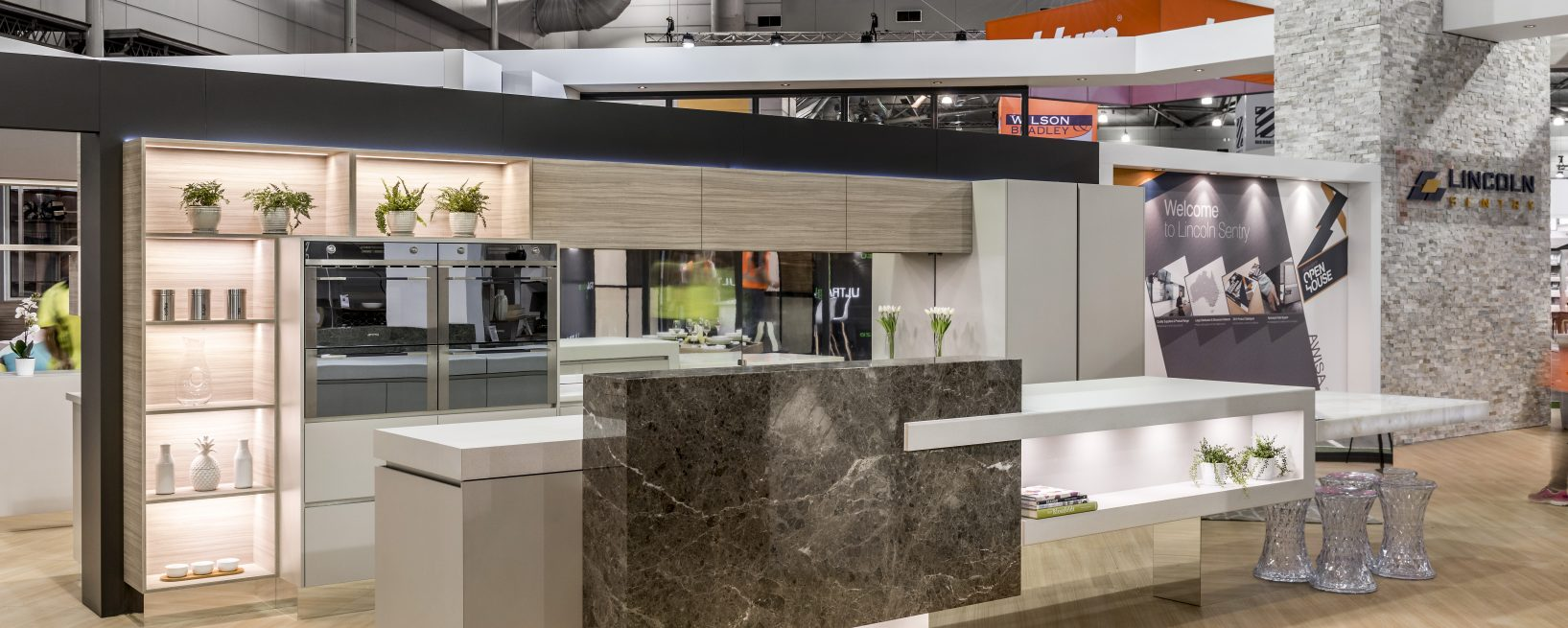 lincoln senty awisa stand 2014 sublime architectural interiors