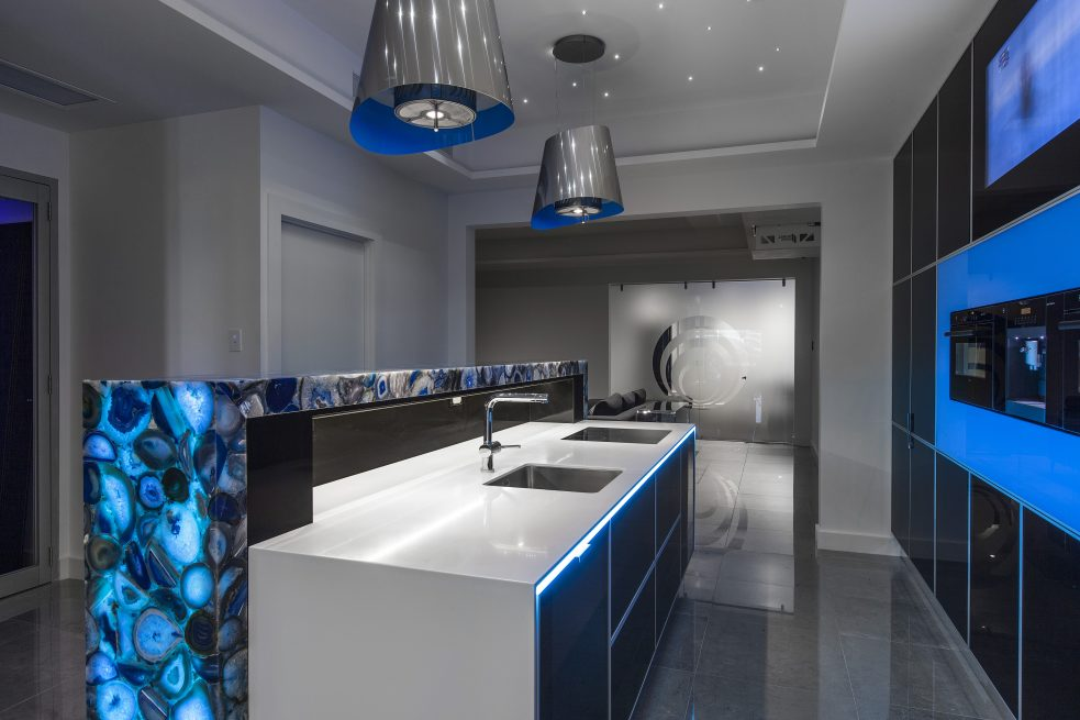 Automated Aplliance Cabinet Kitchen Design Brisbane Australia