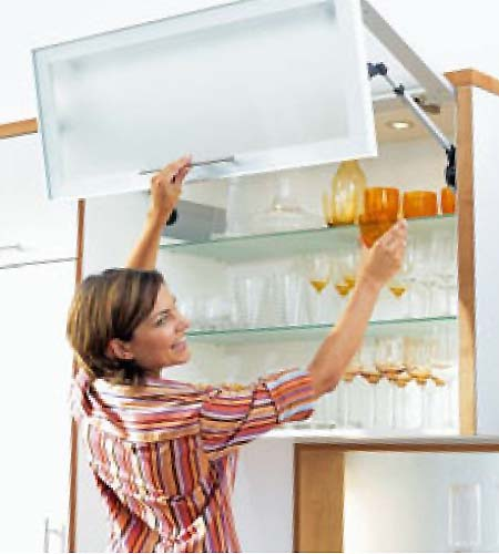 Blum Aventos HF kitchen lift system