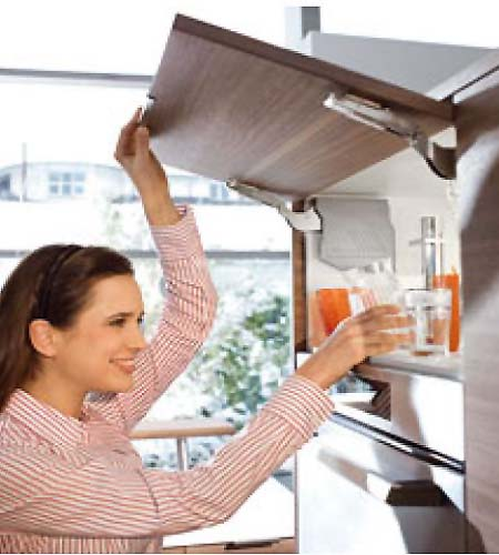 Blum Aventos HK-S kitchen lift system