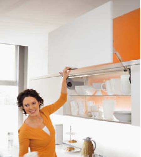 Blum Aventos HL kitchen lift system