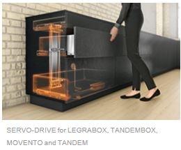 Blum Aventos for Kitchen Drawer Systems