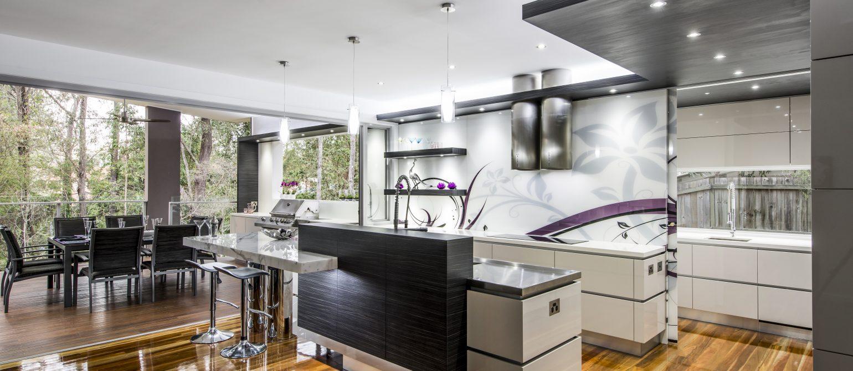 Indoor Outdoor Kitchen Design Brisbane Australia