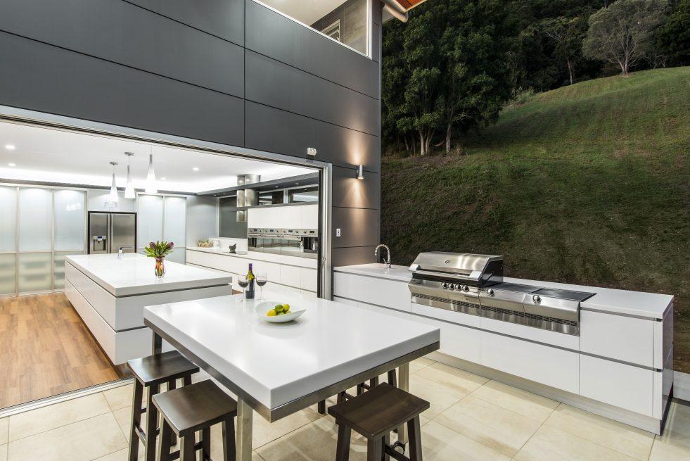 Indoor outdoor Kitchen Design