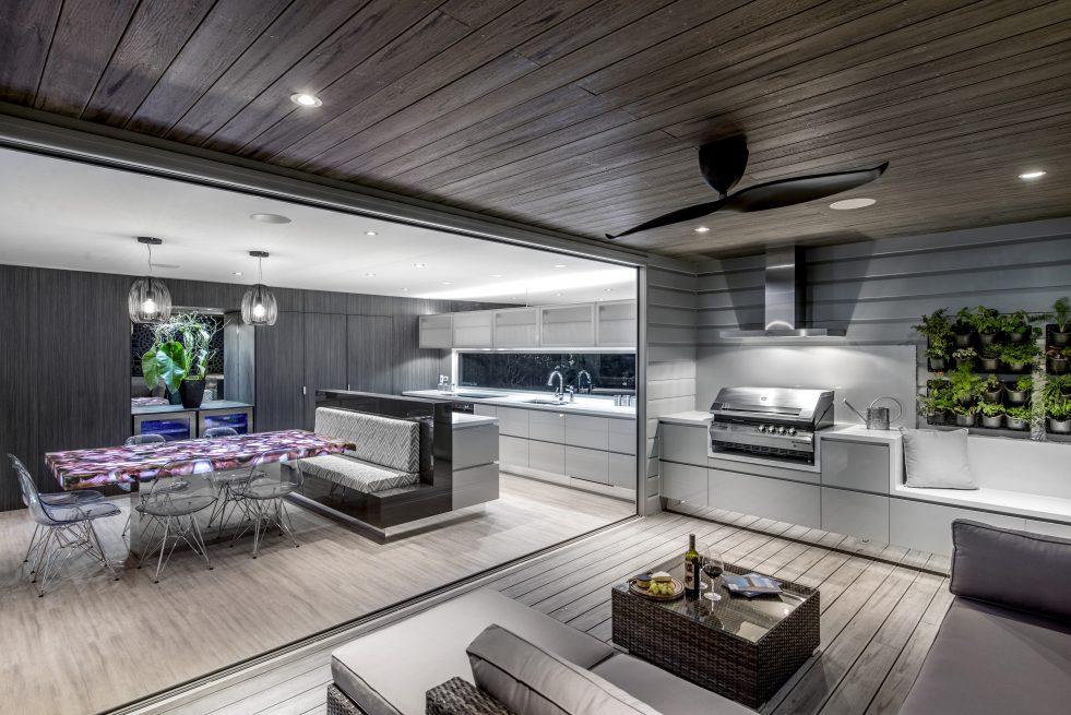 Indoor outdoor kitchen New Farm brisbane Australia