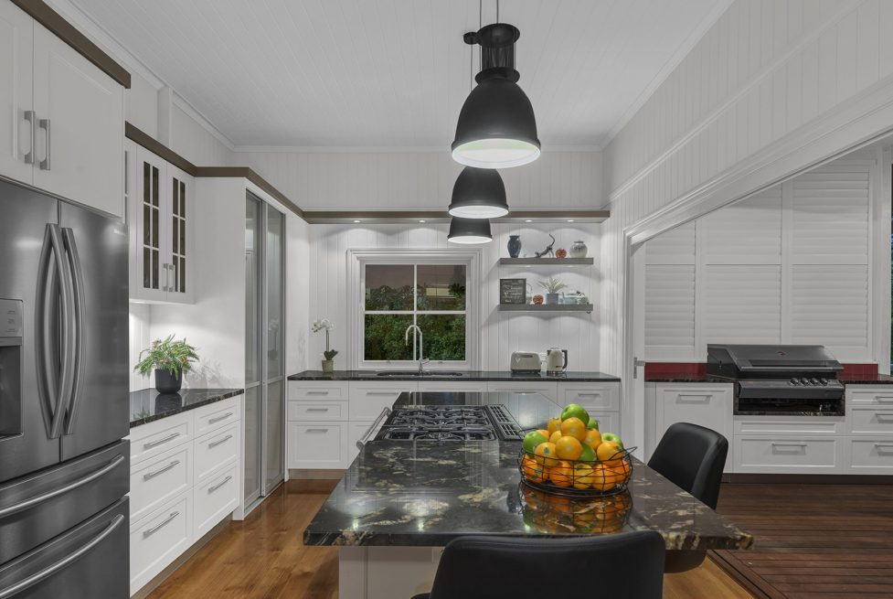 Queenslander Kitchen Design & renovation Brisbane Austrlalia