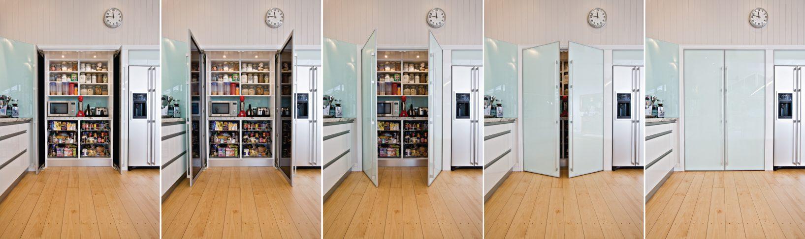 Pocket Folding Sliding Pantry Doors