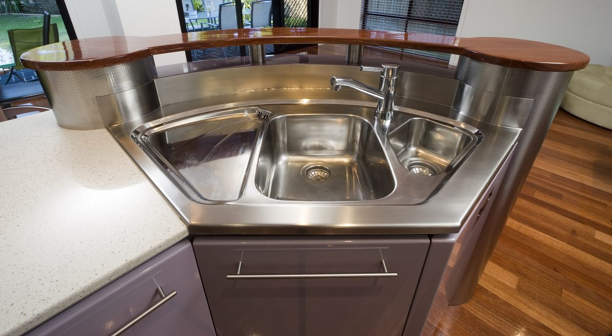 Stainless Steel Kitchen Benchtop