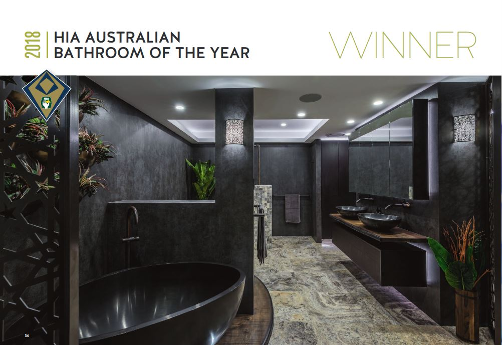 2018 HIA Australian Bathroom of the Year